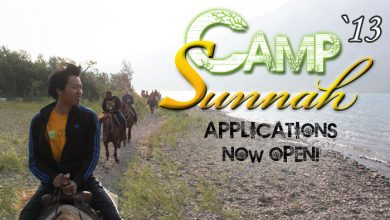 Photo of Camp Sunnah 2013 Applications Now Open!