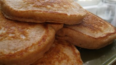 Photo of Breakfast of Champions: Whole Wheat Pumpkin Flax Pancakes