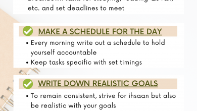Photo of A Student's Ultimate Checklist to Achieve Success with Exams and Ramadan